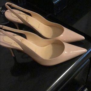Christian Louboutin Clare Sling heel
